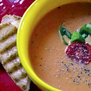 TOMATO BASIL CREAM SOUP Recipe