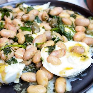 Borlotti Beans With Mozzarella.