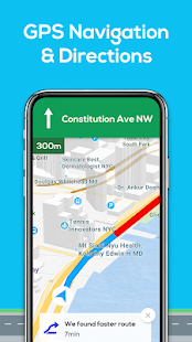 GPS Navigation - Map Locator & Route Planner Screenshot