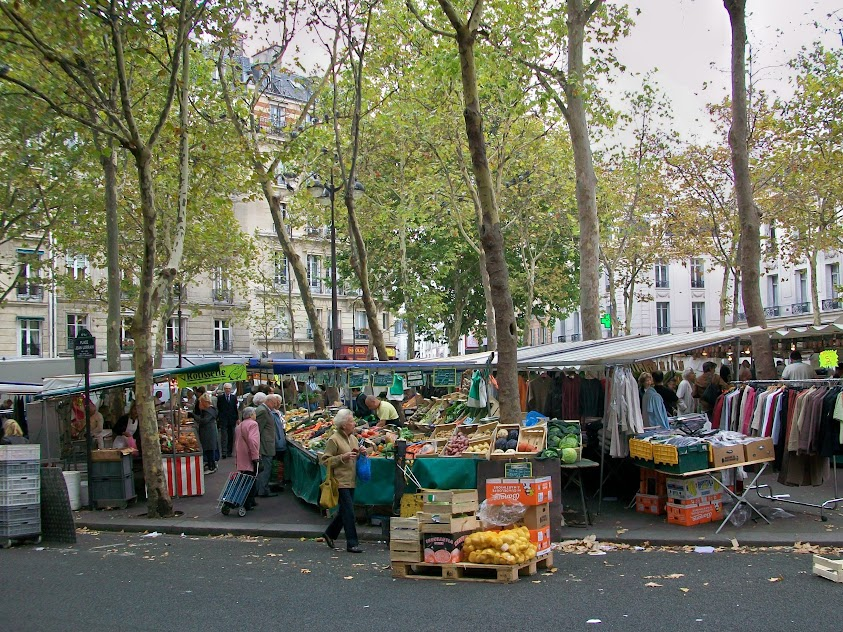 Marché Auteuil マルシェ・オートゥイユ