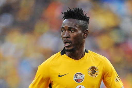 Lewis Macha of Kaizer Chiefs during the 2016 Carling Black Label Champion Cup match between Orlando Pirates and Kaizer Chiefs at FNB Stadium on July 30, 2016 in Soweto, South Africa. (Photo by Lefty Shivambu/Gallo Images)