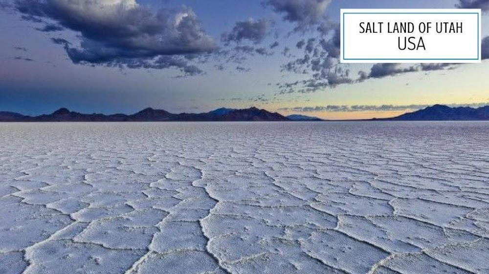 salt land of utah usa_image
