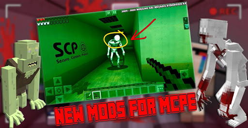 New SCP 096 Mod For MCPE - Horror Foundation Craft ss2