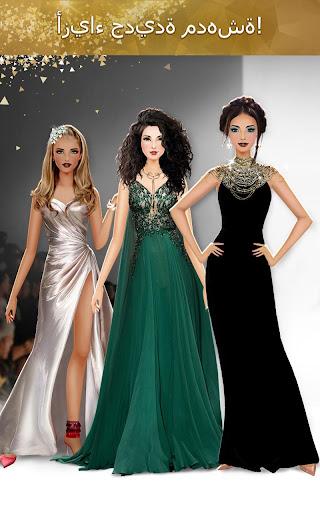 تصميم الأزياء على مستوى دولي لعبة تلبيس بنات Full Apk