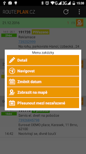 RoutePlan.cz- screenshot thumbnail