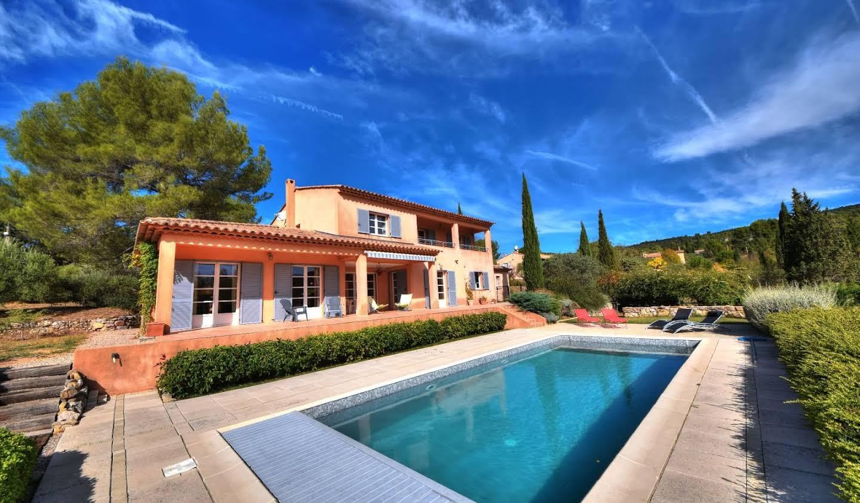 Maison avec piscine et terrasse Villecroze