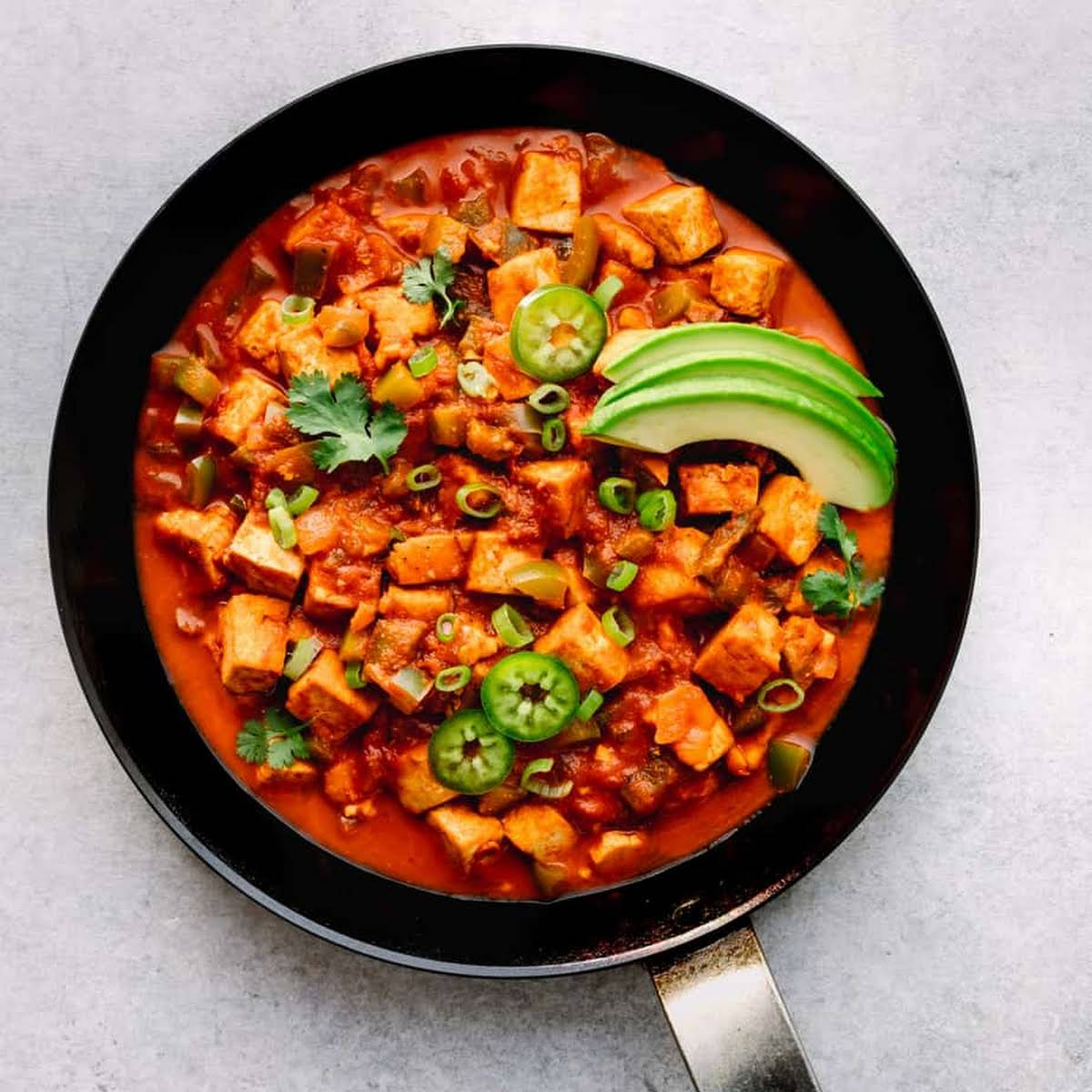 Tofu Rancheros (Low Carb and High in Protein!)
