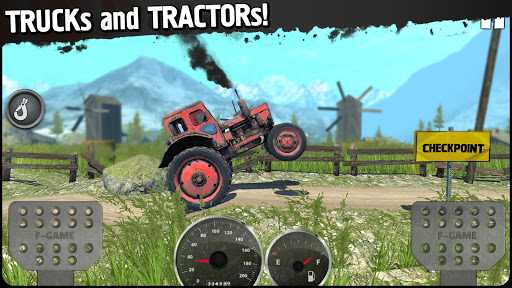 Off-Road Travel: 4x4 hill climb screenshots 1