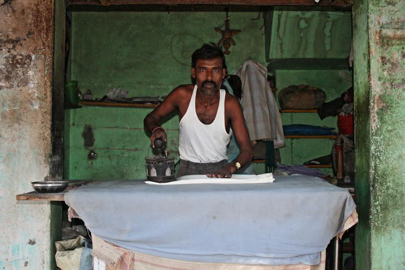 Stiratore a Berike-India di aag