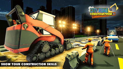 Mega City Road Construction Machine Operator Game modavailable screenshots 4