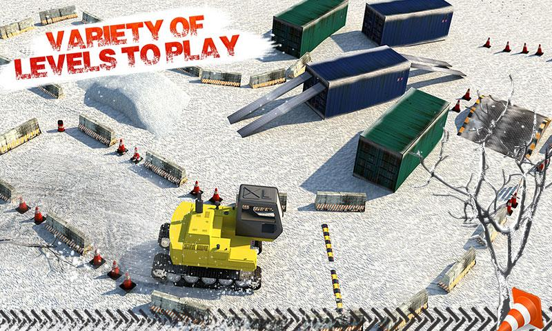 Super SnowCat Parking 2017- screenshot