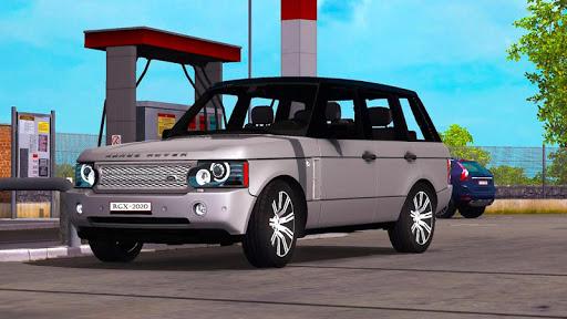 Luxury Prado Jeep Spooky Stunt Parking Range Rover screenshots 3