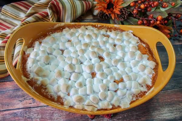 Amaretto Sweet Potatoes Recipe