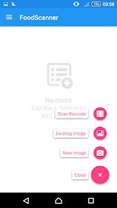 FoodScanner screenshot 0