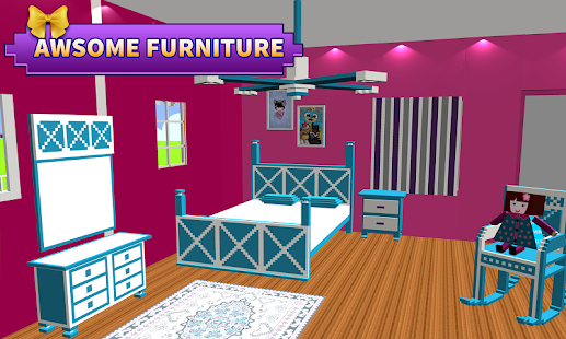 Doll House Design Decoration Girls House Games Android Apps