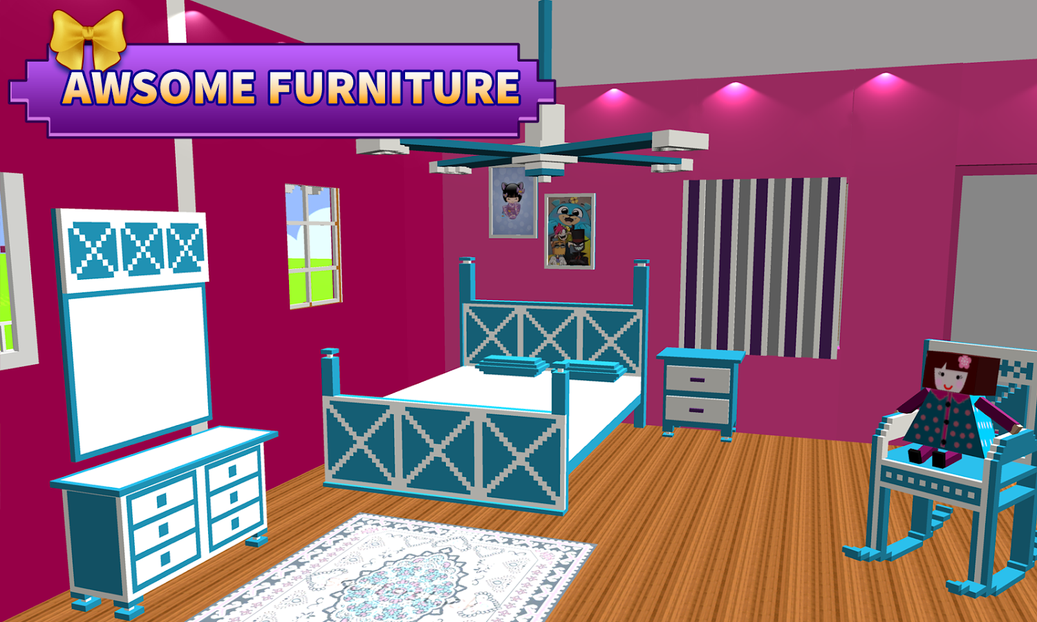 Doll House Design Decoration Girls House Games Android Apps On Google Play