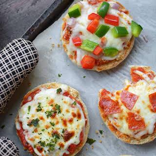 Freezer English Muffin Freezer Pizzas.