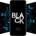 Black Wallpapers - 4K Dark & AMOLED Backgrounds icon