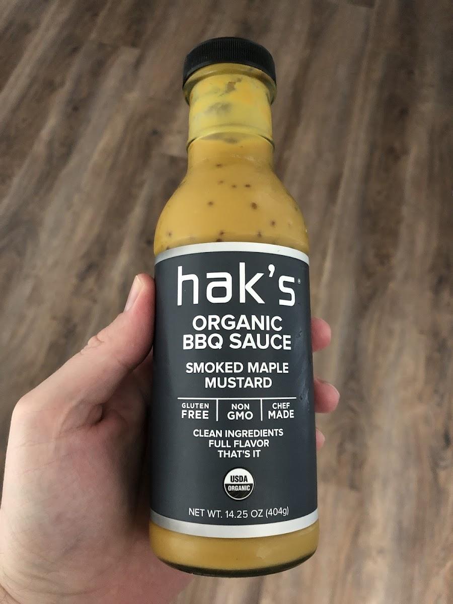 Smoked Maple Mustard Organic BBQ Sauce