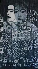 """Photo: Martyna Trzópek """"Fascynacja Klimtem"""", gobelin"""