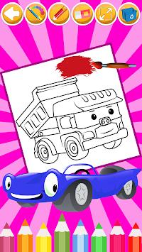 Download Mobil Mewarnai Halaman Mewarnai Buku Game Terbaik Apk