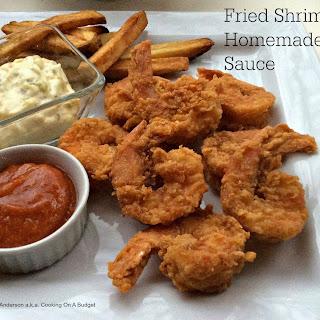 Fried Shrimp With Homemade Tartar Sauce