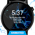 Electric Energy Watch Face - Wear OS Smartwatch icon