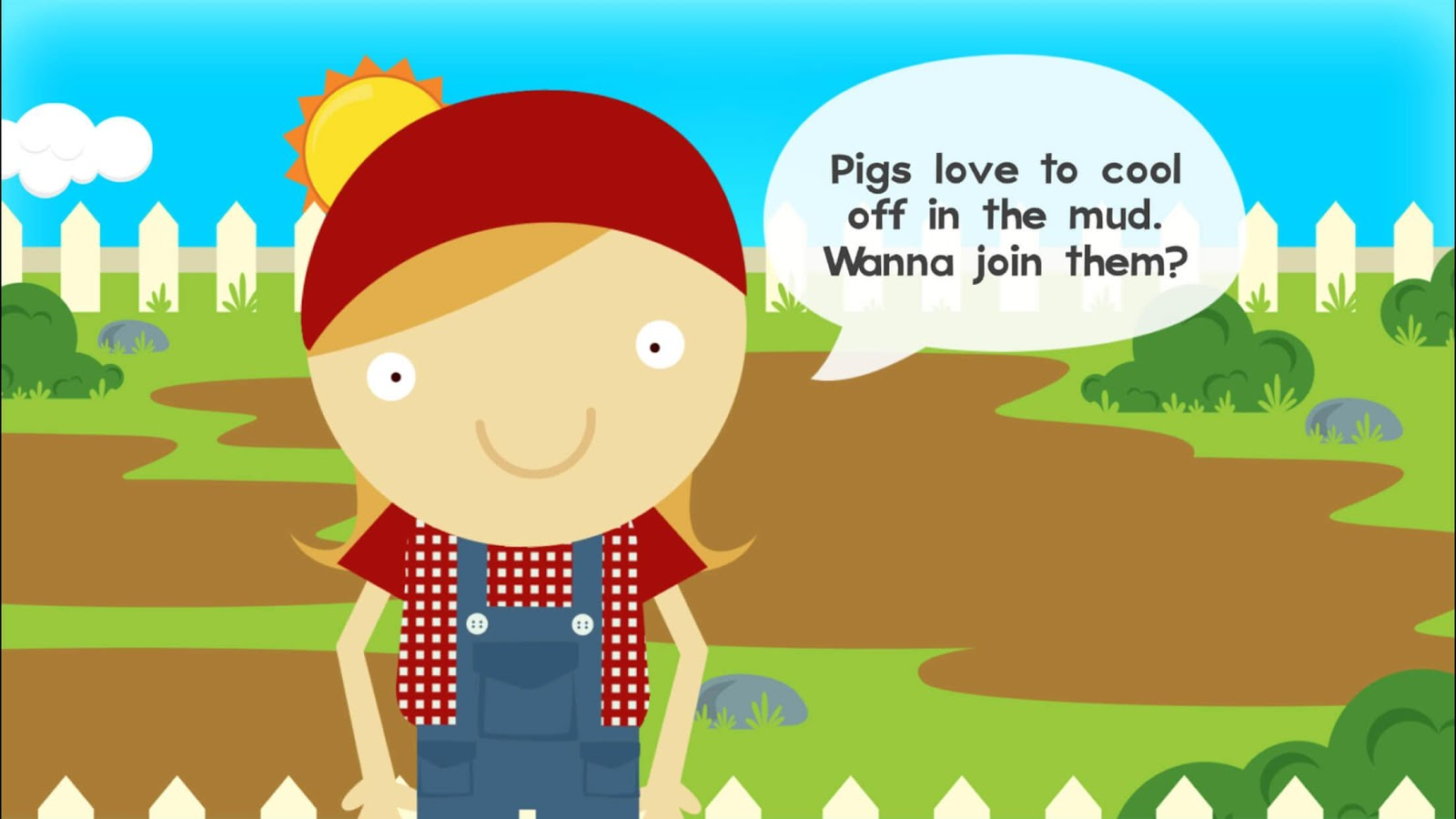 Farm Story Maker Activity Kids Game for Toddlers- screenshot