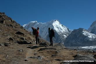Photo: dernier regard sur le Népal Peak de Pasang et Iman.