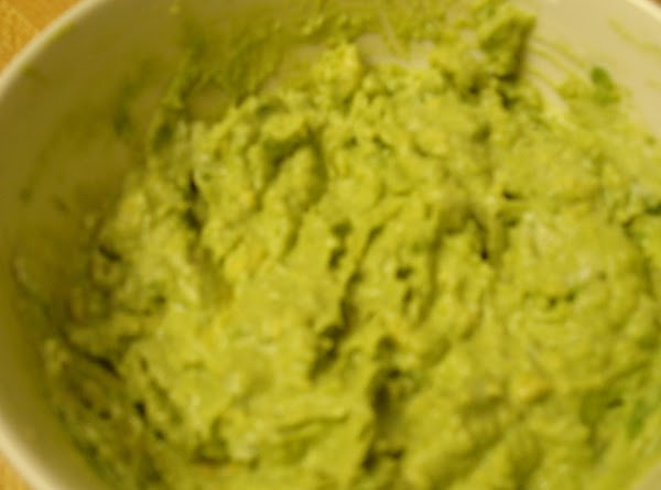 Sauce: Remove avocado from skin and place in a small bowl. Mash with a...