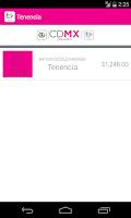 Screenshot of Tesorería CDMX
