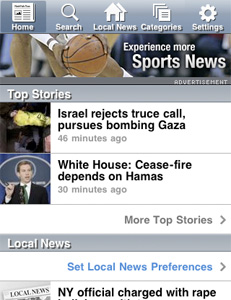 AP News iPhone application