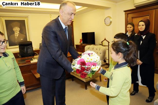 Çankırı Valisi,Vali Hamdi Bilge Aktaş,ÇANKIRI 23 Nisan Valisi,