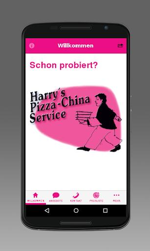 Harry´s Pizza China Service