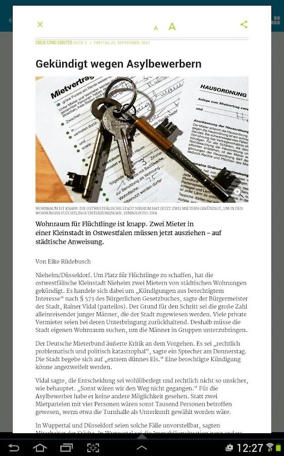 westdeutsche zeitung burscheid and relationship