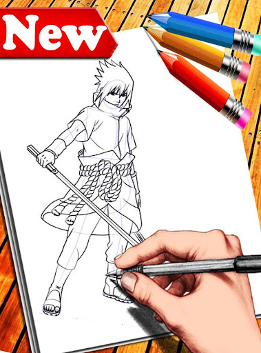 How to Draw Naruto Characters 1.6 screenshots 7