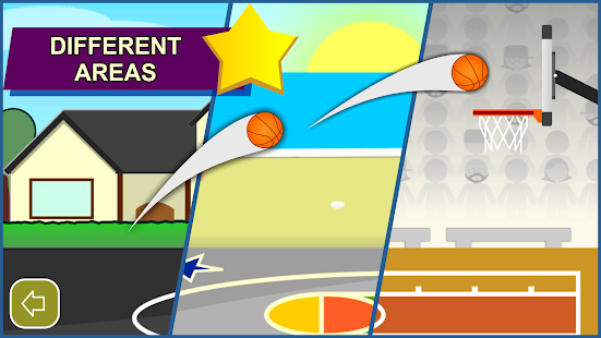 Swipe Shootout: Fun Basketball Shooting Challenges Screenshot