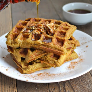 Sweet Potato Plantain Waffles {Recipe}