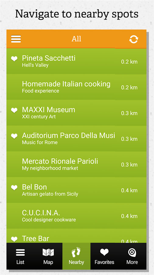 Rome guide by locals- screenshot