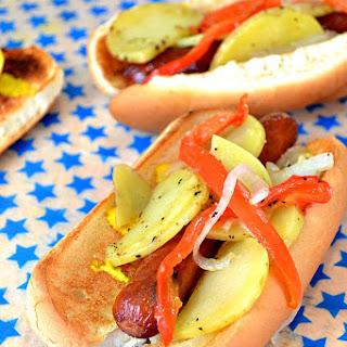 Potato Hot Dogs Recipe