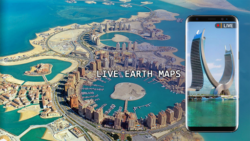 Live Earth Map 2020 -Satellite & Street View Map 2.1 screenshots 2