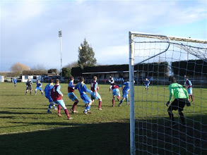 Photo: 27/02/10 v Deeping Rangers (United Counties League Premier Div) 0-4 contributed by Gyles Basey-Fisher