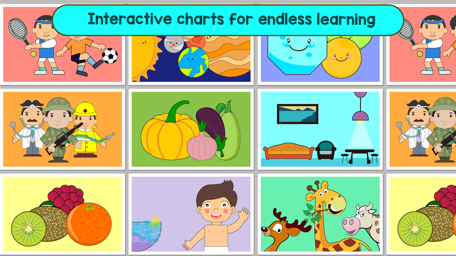 Kindergarten Kids Learning : Educational Games- screenshot