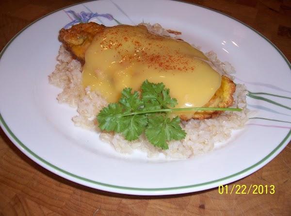 Parmesan Chicken Over Rice Recipe