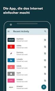 Passwort-Manager von Dashlane Screenshot