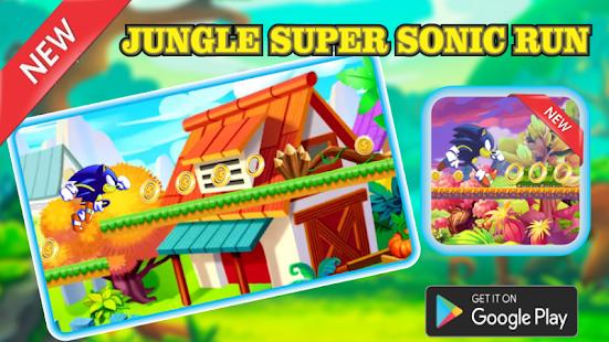 Jungle Super Sonic Run - náhled
