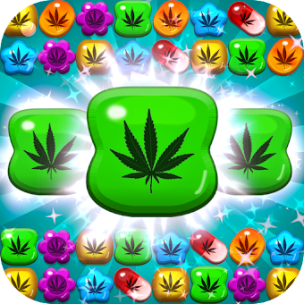 Weed Match 3 Candy Jewel - Crush cool puzzle games