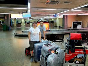 Photo: 4 ráno na letišti v Daru i se všemi kufry.