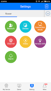 CloudSEE JVS - náhled