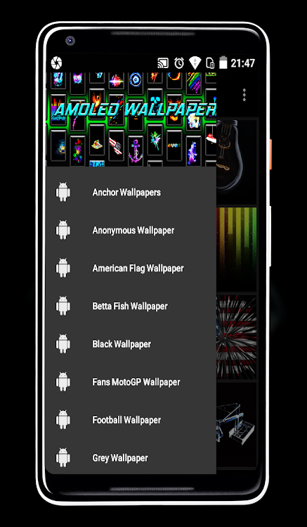 Amoled Wallpapers Android Aplicaciones Appagg